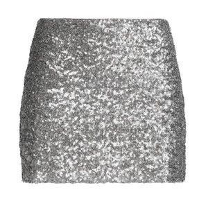 Bailey 44 Silver Sequin Sparkly XS Mini Skirt ✨